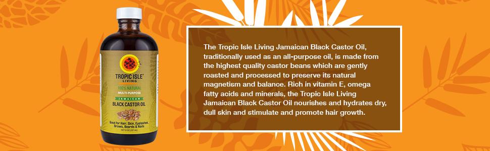 Amazon.com: Isla tropical viviente- Aceite negro de castor ...