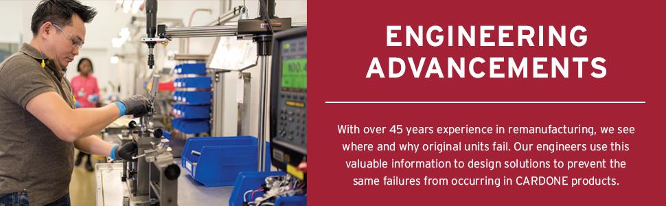Cardone Engineering Advancements