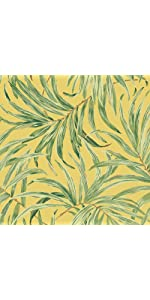 sure strip wallpaper, removable wallpaper, bali leaves sure strip wallpaper
