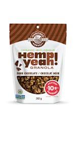 Manitoba Harvest Hemp Yeah high protein omega 3 organic non-gmo vegan kosher soy free fibre