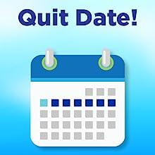 quit date calendar graphic