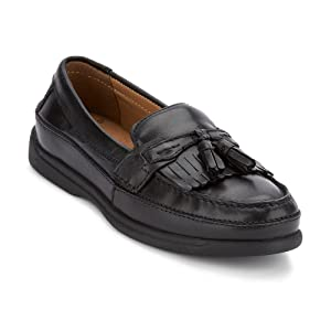7e2e7a8a2a6 Dockers Men s Sinclair Leather Tassel Loafer Shoe. Dress Kiltie Loafer
