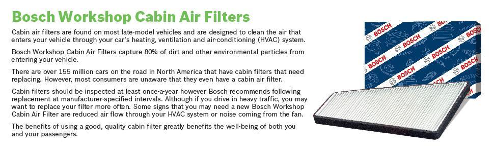 Bosch Workshop P3875WS Cabin Air Filter