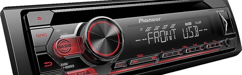 stereo radio mp3 cd aux music loud subwoofer eq usb pioneer speaker jbl jl audio rca balance