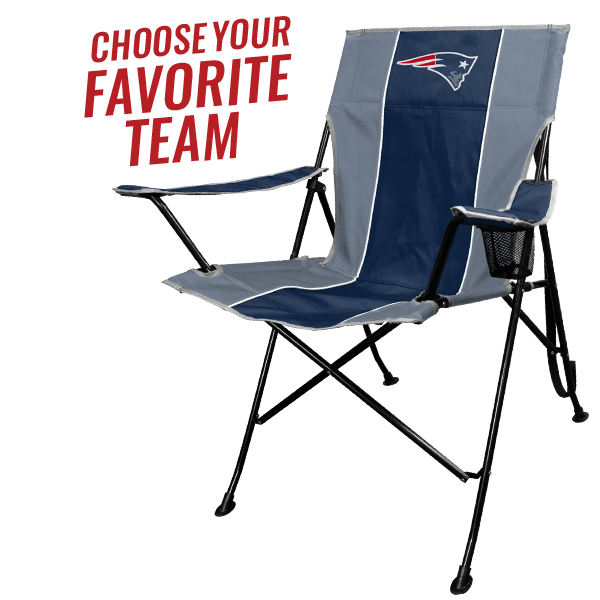 The NFL Portable Folding Tailgate Chair with Cup Holder and Carrying Case  sc 1 st  Amazon.com & Amazon.com : NFL Portable Folding Tailgate Chair with Cup Holder and ...