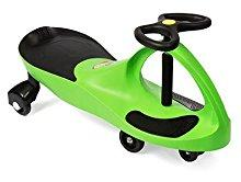PlasmaCar The Original by PlaSmart – Blue – Ride On Toy, Ages 3 yrs and Up, No batteries, gears, or pedals, Twist, Turn, Wiggle for endless fun