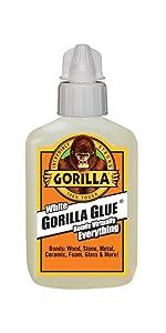 Gorilla Glue White waterproof expanding polyurethane adhesive
