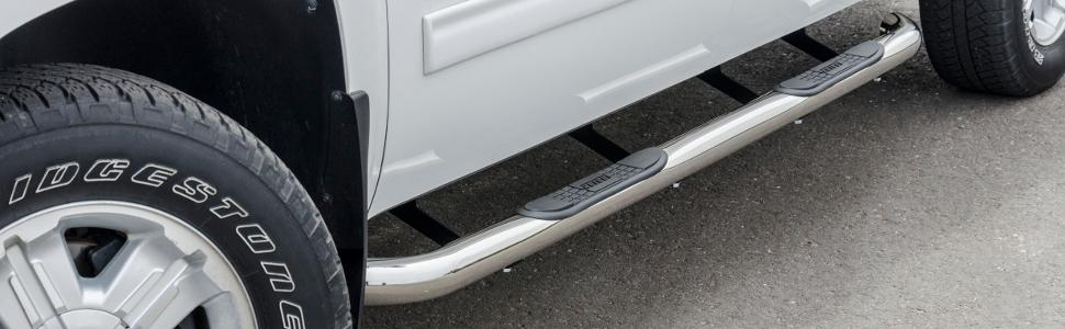Aries Automotive 205000-2 Stainless Steel Side 3-Inch Step Bar