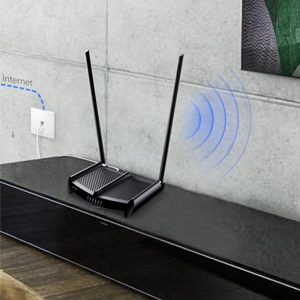 TP-link TL-WR841HP 300Mbps Speed Wi-Fi WiFi Wireless High Power Range Coverage Router Jio Fibre