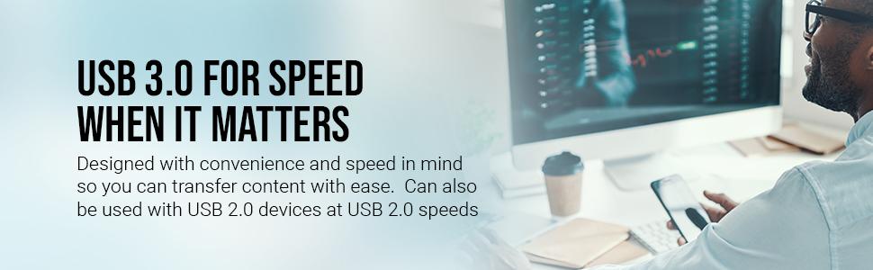 Turbo Attache 3 USB 3.0 Flash Drive
