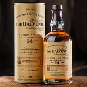 Balvenie Caribbean Cask 0,7L 14 éves 43% DD skót malátawhisky - Whisky áráért KLIKK