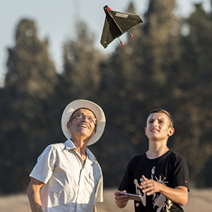 drone mini rc flying glider powerup paper airplane toys