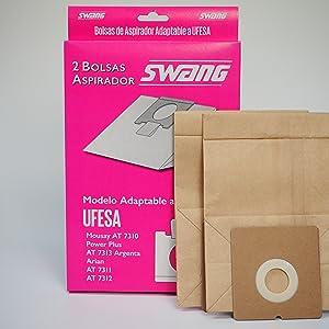Sanfor 71146 Paquete con 6 cajas de 2 Bolsas de aspirador UFESA ...