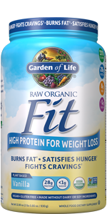 garden of life, raw organic fit,