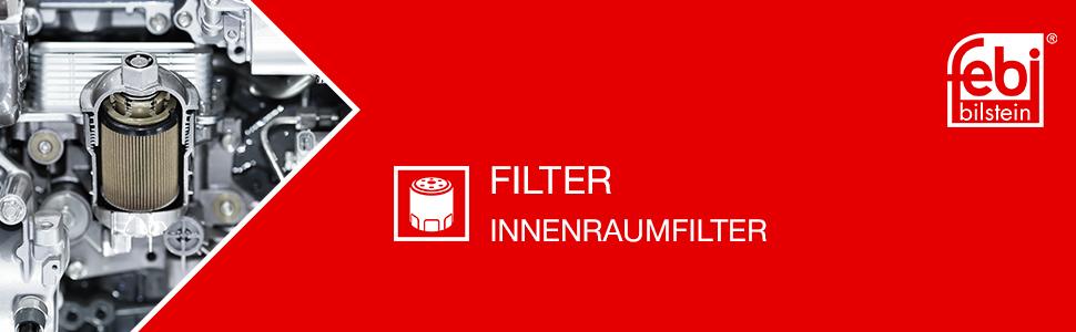 1 St/ück febi bilstein 30641 Innenraumfilter // Pollenfilter motorseitig