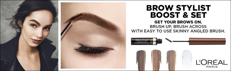 7c39600ea43 Amazon.com : L'Oreal Paris Cosmetics Brow Stylist Boost & Set Brow ...