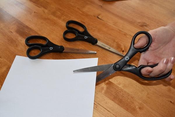 Black 15585 3 Pack Westcott 8-Inch KleenEarth Basic Straight Scissors