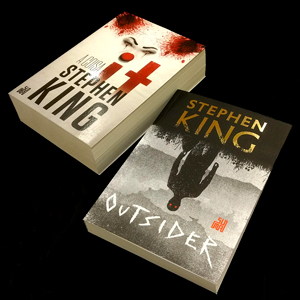 stephen king; outsider; terror; suspense; sobrenatural; geek; editora suma