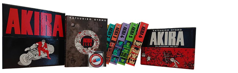 Amazon Com Akira 35th Anniversary Box Set 9781632364616 Otomo Katsuhiro Books