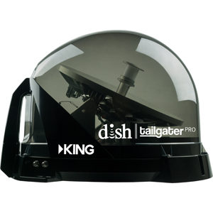 DISH Tailgater Pro Premium Portable Satellite TV Antenna System for use with DISH