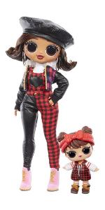 LOL Surprise!  Модная кукла милашки OMG Winter Chill Camp