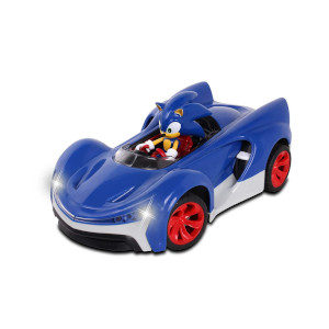 Amazon Com Nkok Team Sonic Racing 2 4ghz Remote Controlled Car With Turbo Boost Sonic The Hedgehog Abstract Abstract Toys Games