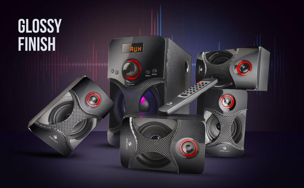 Zebronics BT4440 RUCF 4.1 Speaker