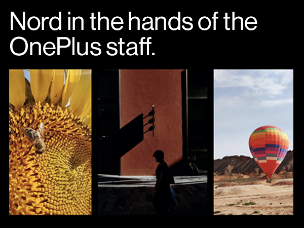 Nord in the hands of OnePlus Staff