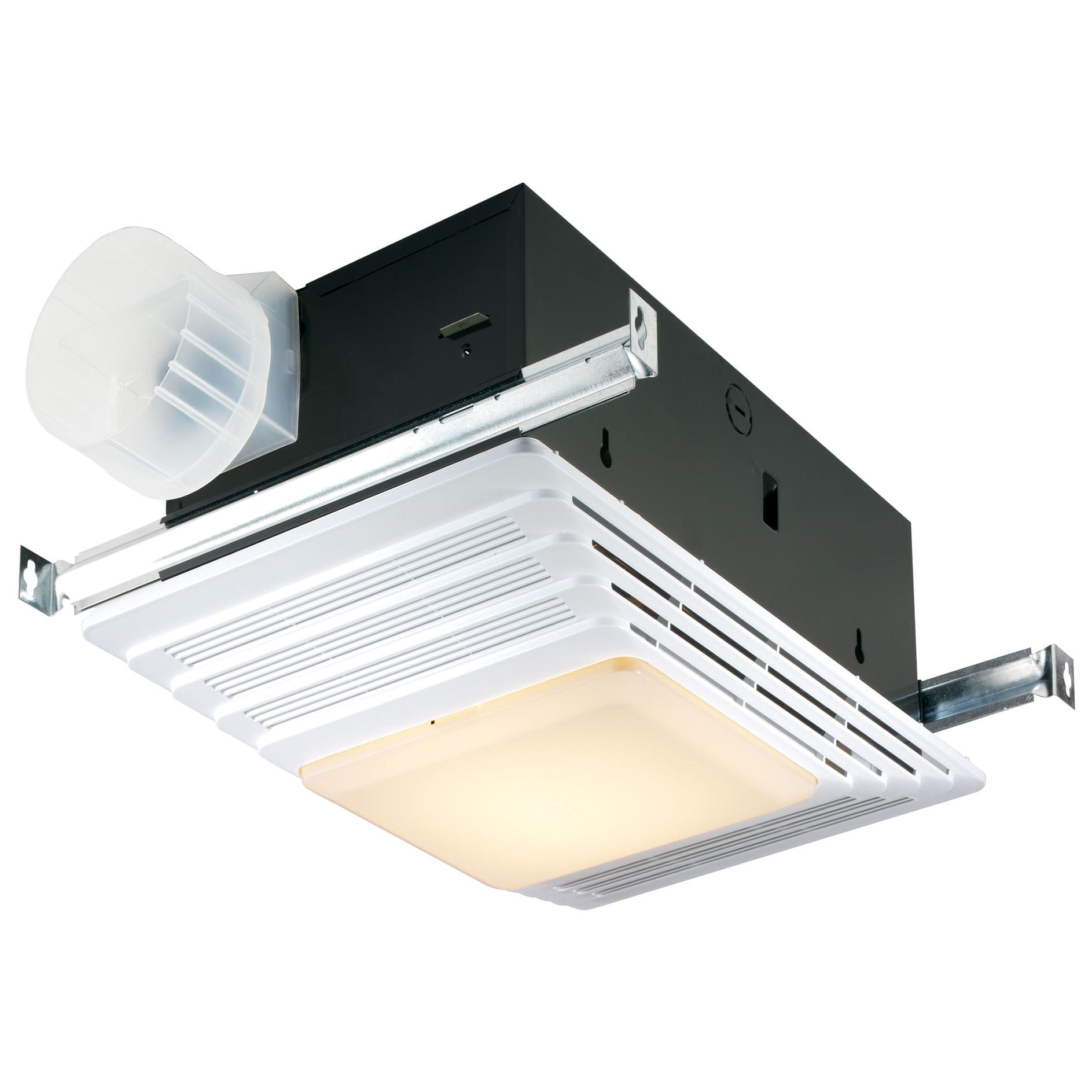 Broan 655 Heater And Heater Bath Fan With Light Combination Built In Household Ventilation