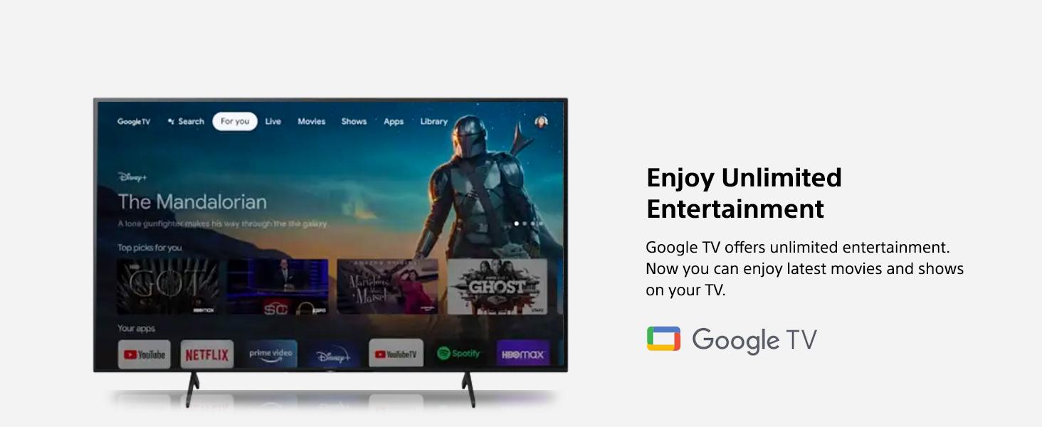 Google TV (App drawer)