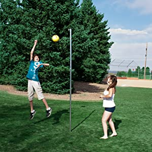 Playground sports, steel, durable, play, tetherball, fun, park, backayrd