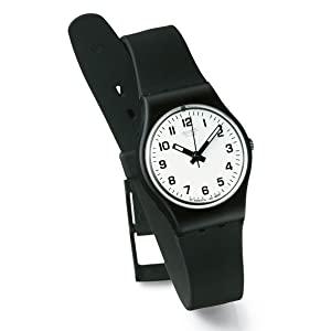 Swatch I Love Your Folk Quartz Silicone Strap, Pi...
