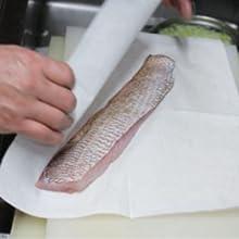 魚ドリップ吸収