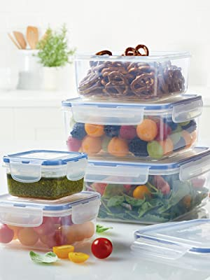 Food storage containers, tupperware