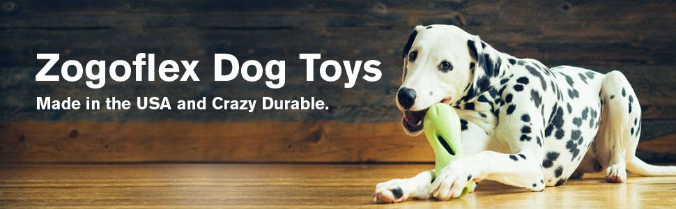 Zogoflex Dog Toys Banner