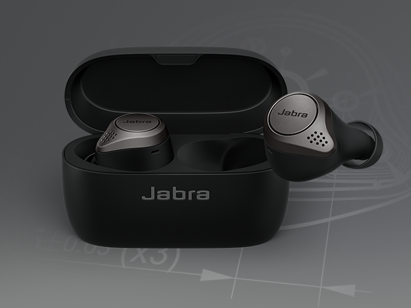 Wireless earbuds - Jabra Elite 75t is engineered to fit. Making and taking calls