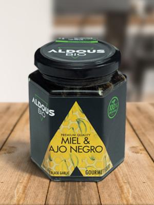 Miel Ecologica con Ajo Negro Aldous Bio