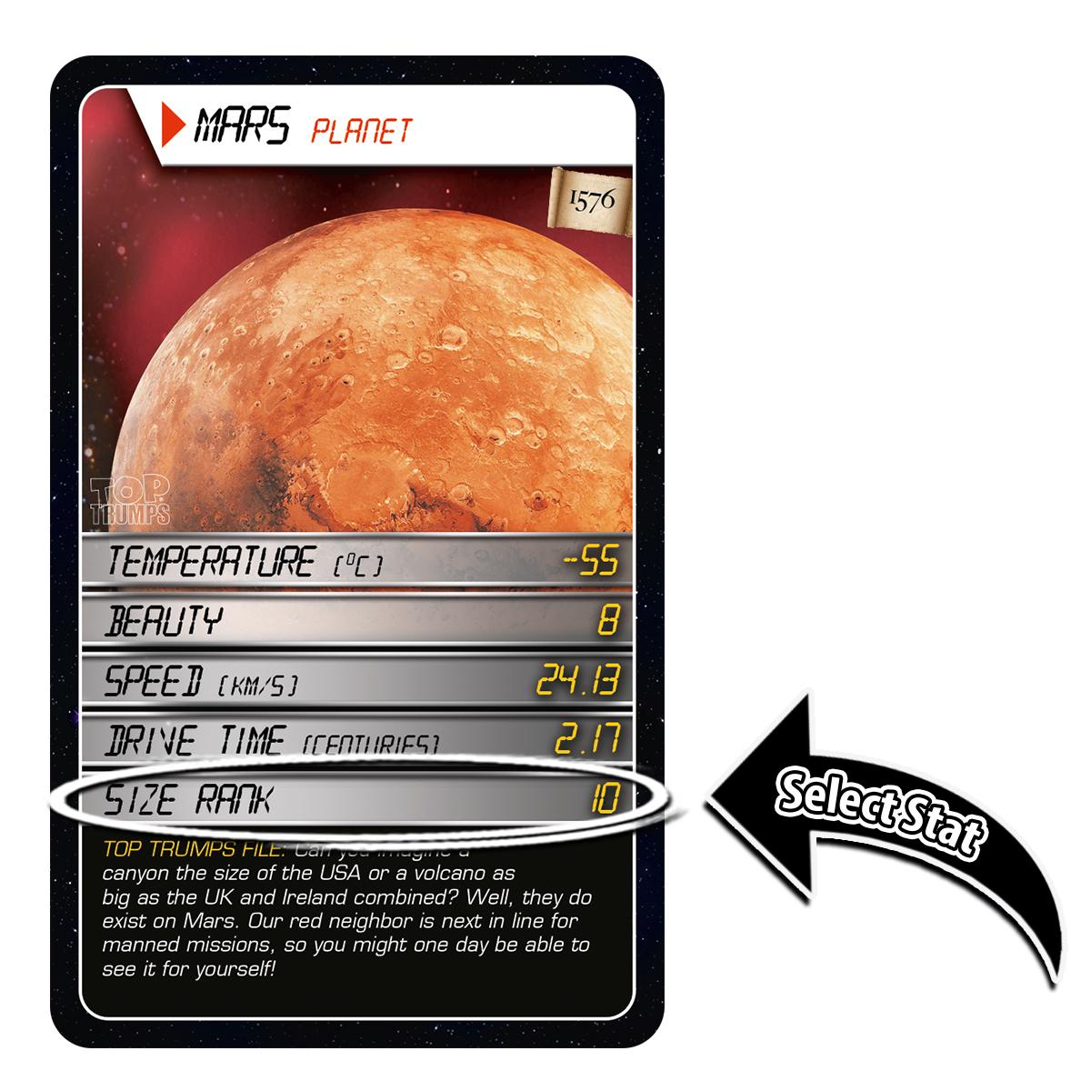 Amazon space top trumps card game educational card games view larger solutioingenieria Gallery