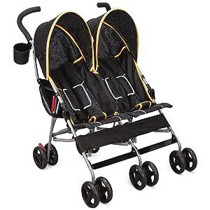 delta children stroller baby twins tandem side by side