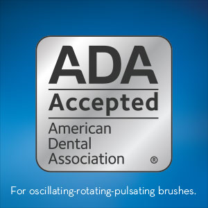 Oral-B is the first electric toothbrush brand accepted by the ADA.