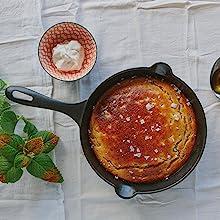 Skillet pan cast iron