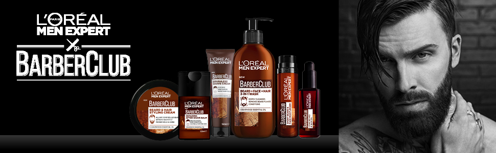 L'Oréal Men Expert Barber Club 3-In-1 beard + face + hair