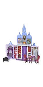 frozen, frozen 2, frozen castle, arendelle castle, foldable castle, fold & go,