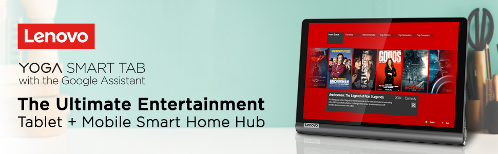 The Ultimate Entertainment Tablet + Mobile Smart Home Hub