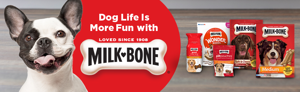 Milk-Bone Dog Life is more fun