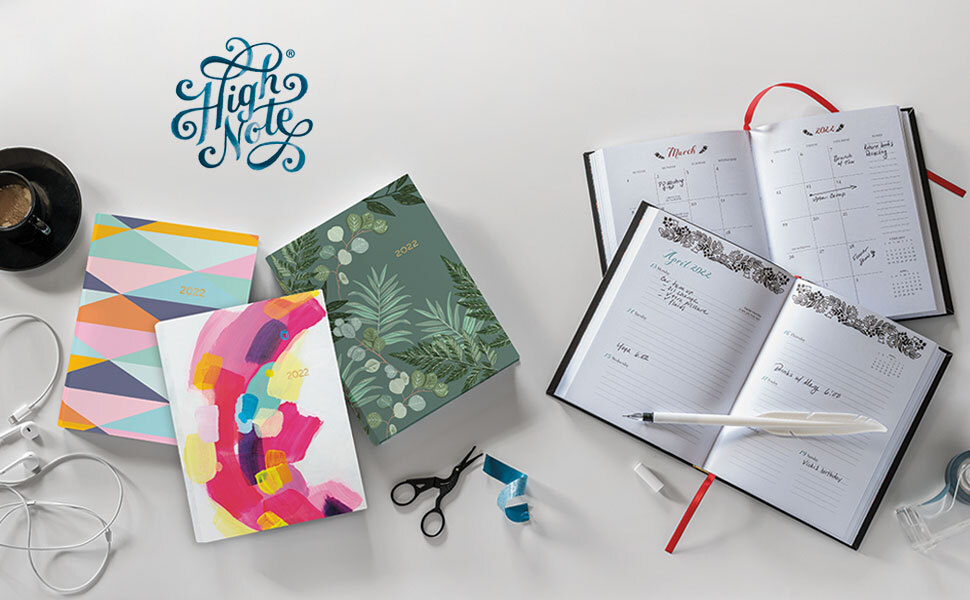 High Note softcover planners and stationery by Sellers Publishing