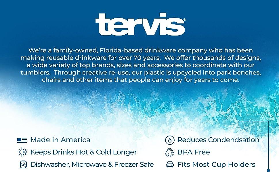 Tervis 16 oz classic