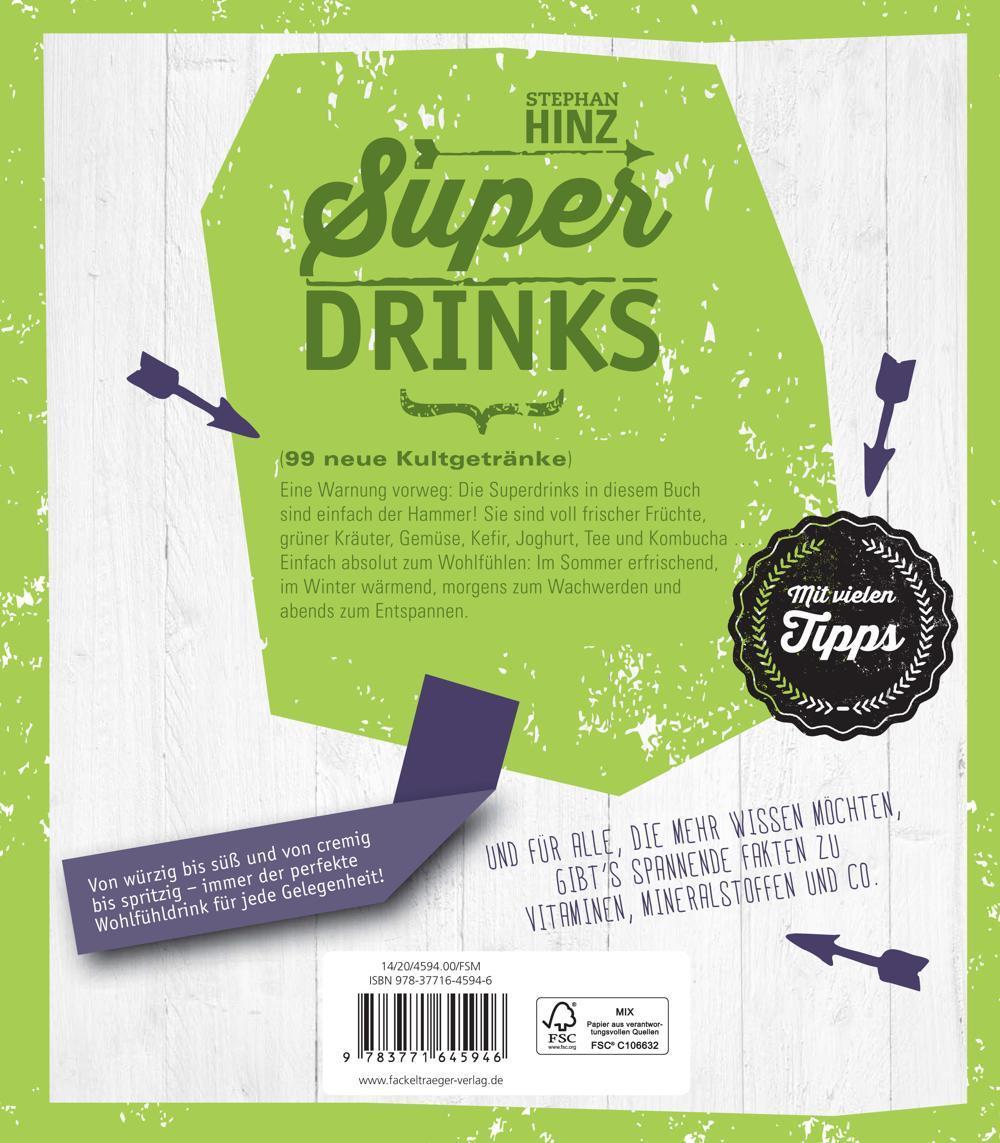 Superdrinks - 99 neue Kultgetränke: Amazon.de: Stephan Hinz: Bücher