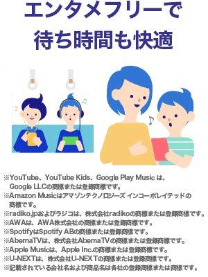 エンタメ,動画,放題,biglobe,sim,youtube