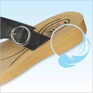 Light weight sole for effortless walking.